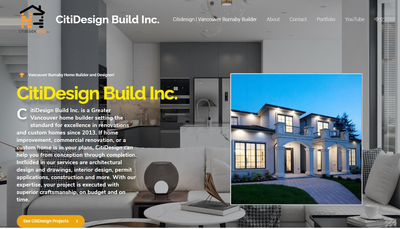 Thinking about Designing or Building a house in Burnaby?  Click here to visit CitiDesign.ca!